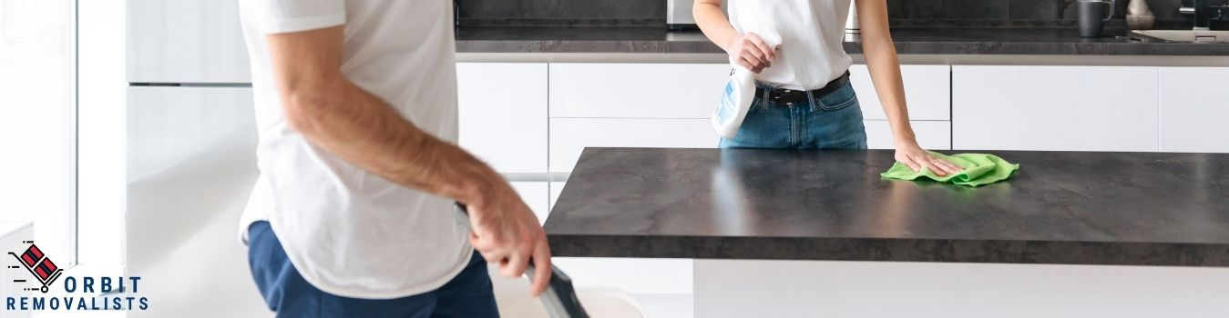 Clean the 'mostly-touched' surfaces at home
